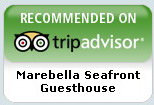 Recommend Marebella Seafront Guesthouse on Tripadvisor